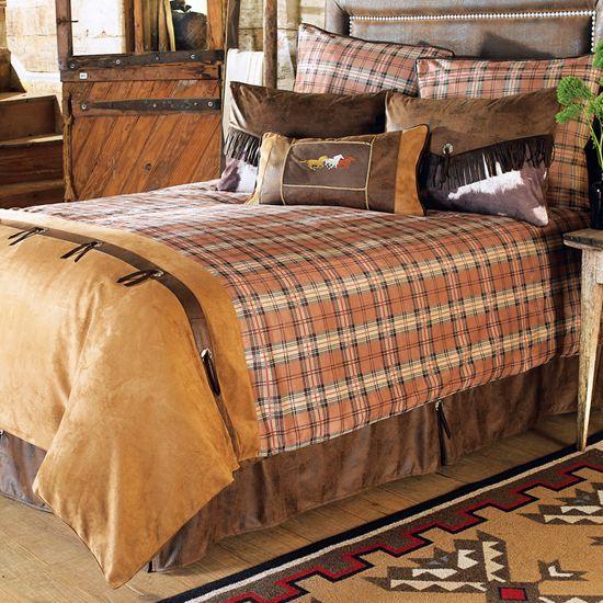 saddleback designer western bedding