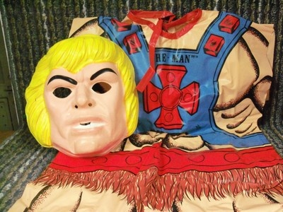 halloween costume ben cooper masters of the universe he man 1982 attic find - Universe Halloween Costume