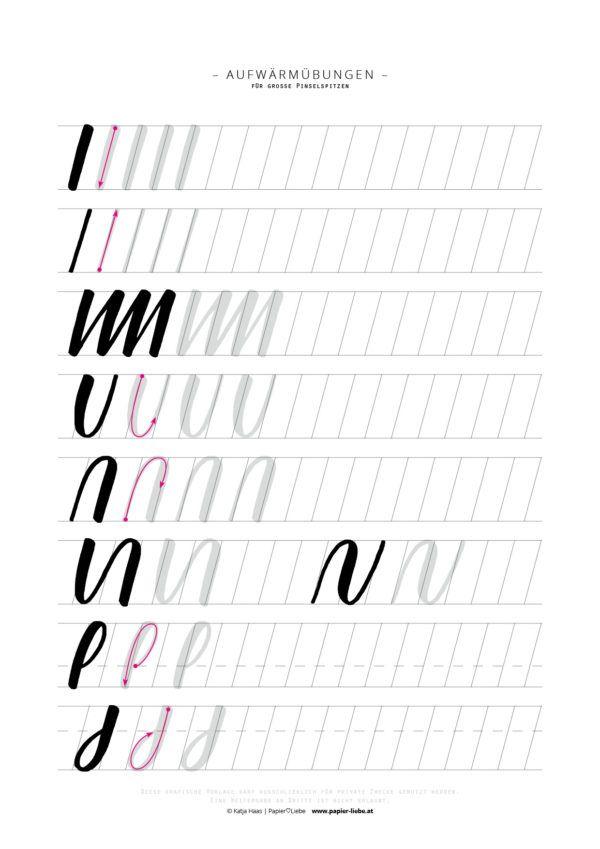 Schriftarten Lernen