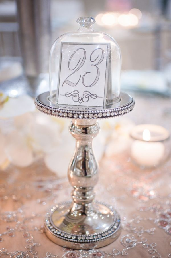 Table number on a cupcake serving stand - so cute // The Not Wedding : Cape Cod