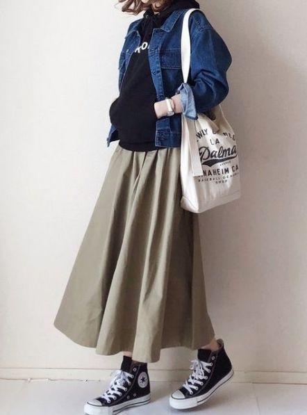 Super Dress Fashion Long Skirts Ideas 1