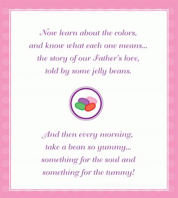 Joy of Desserts: Jelly Bean Story sweetly shares the meaning of Easter