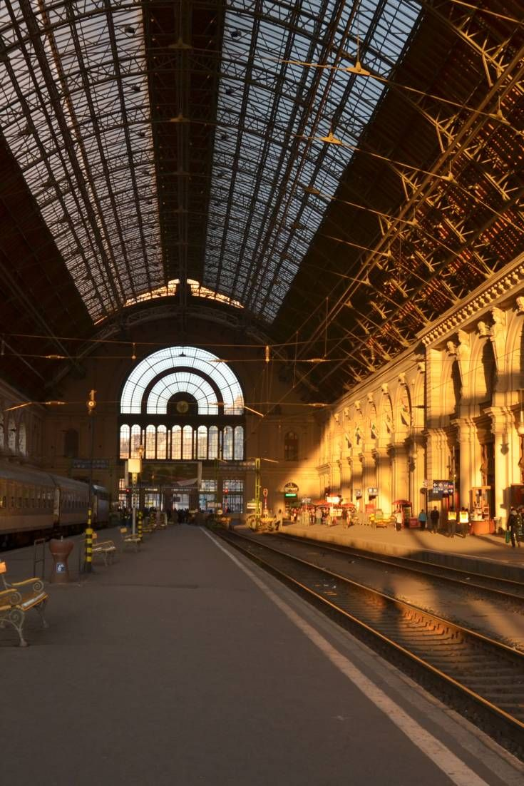 From its massive glass atrium to its impressive gold encrusted pillars and frescoes, this perfect filming location offers elements that most European bahnhofs once had and have since lost.