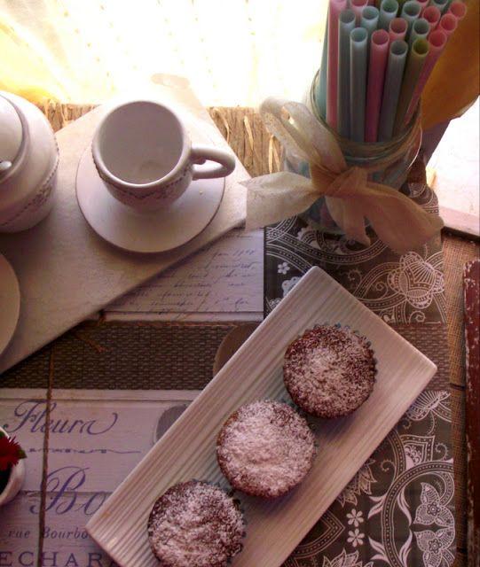 L'Emporio 21: Muffins carote nocciole e cannella e la casa