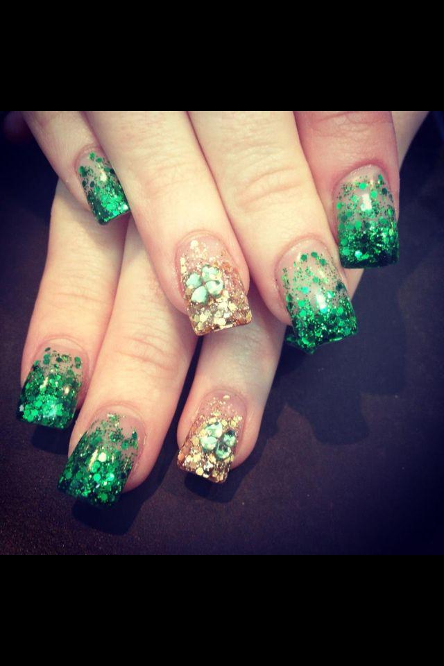 St Patricks day nails - the nail lounge | Nails | Nails ...