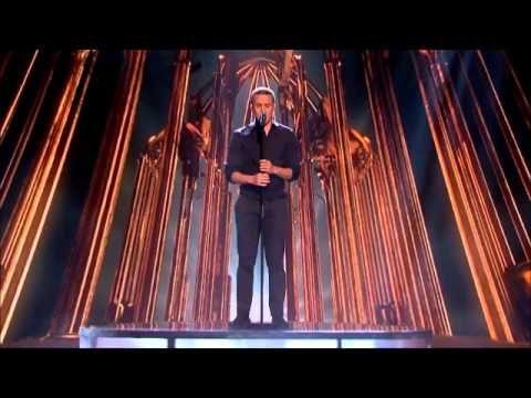 Jahmene Douglas sings Whitney Houston's I Look To You - Live Week 9 - The X Factor UK 2012 - YouTube