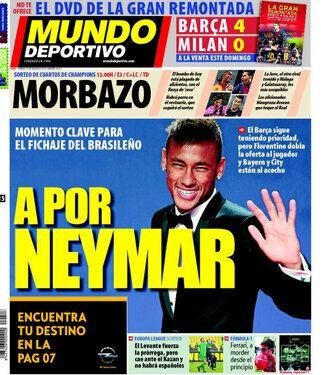 Neymar: objeto de deseo