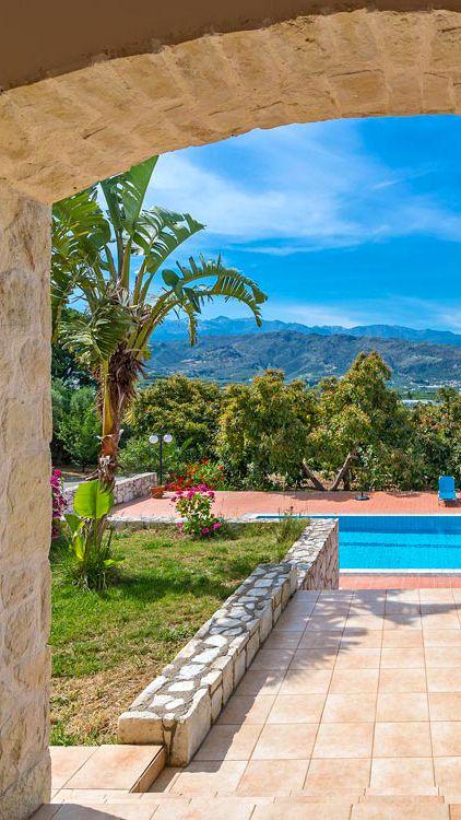 Villa Minas in Galatas, Chania, Crete