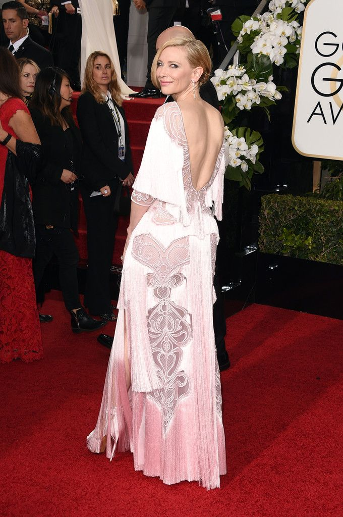 Cate Blanchett in Givenchy couture attends 73rd Annual Golden Globe Awards on January 10, 2016
