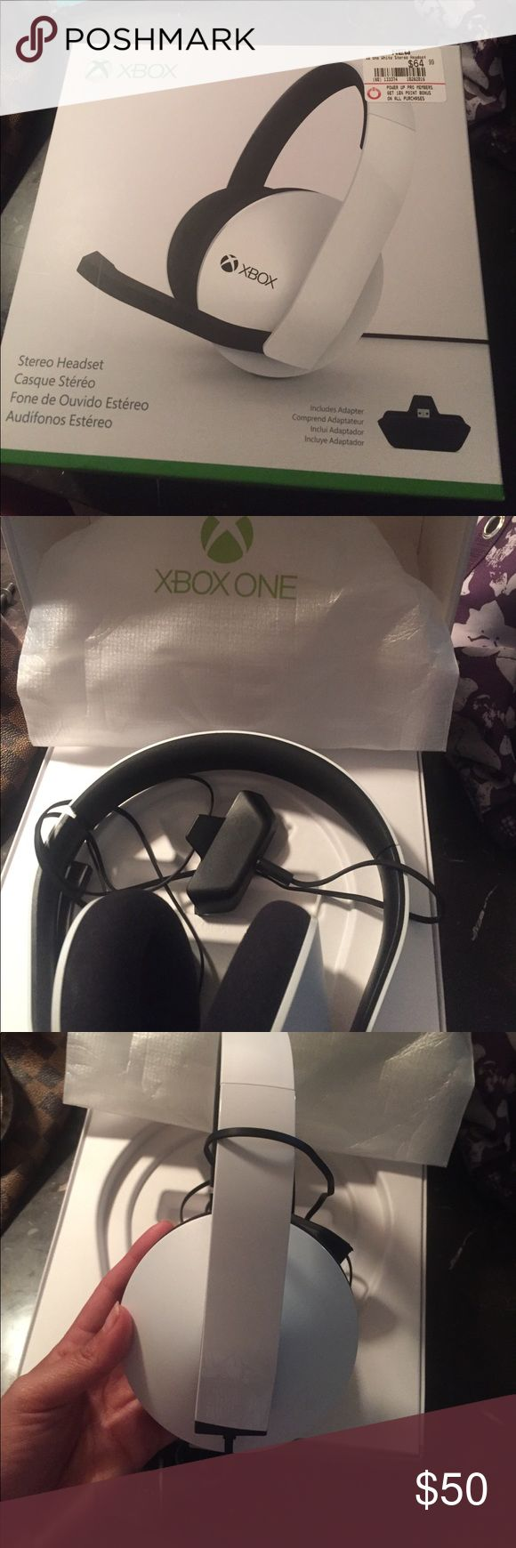 Official Microsoft Xbox headset Never used box one headseats. There is nothing wrong  with them!!! xbox Other