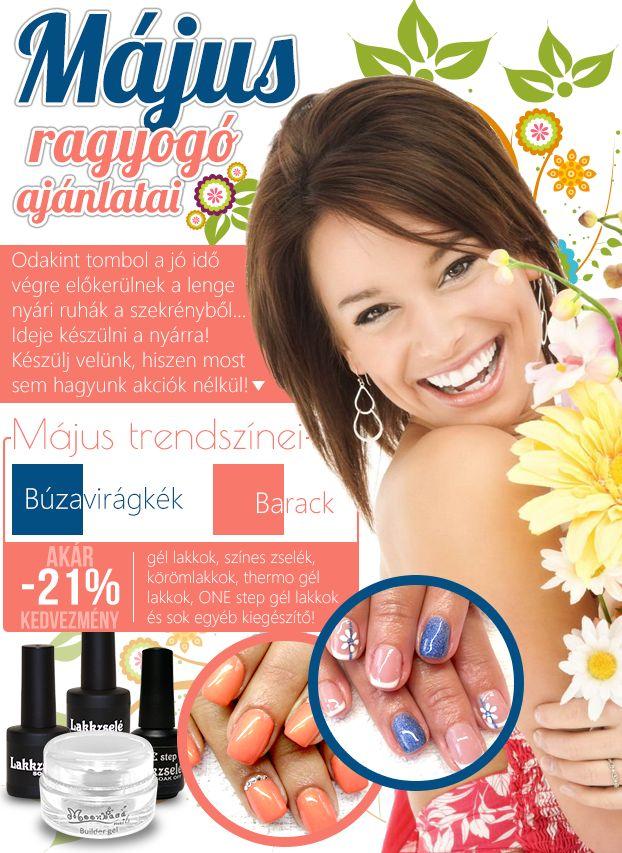 Májusban is a körmöké a főszerep! #nails #nailart #shopping