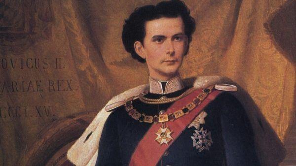 Raja Ludwig II karam di danau