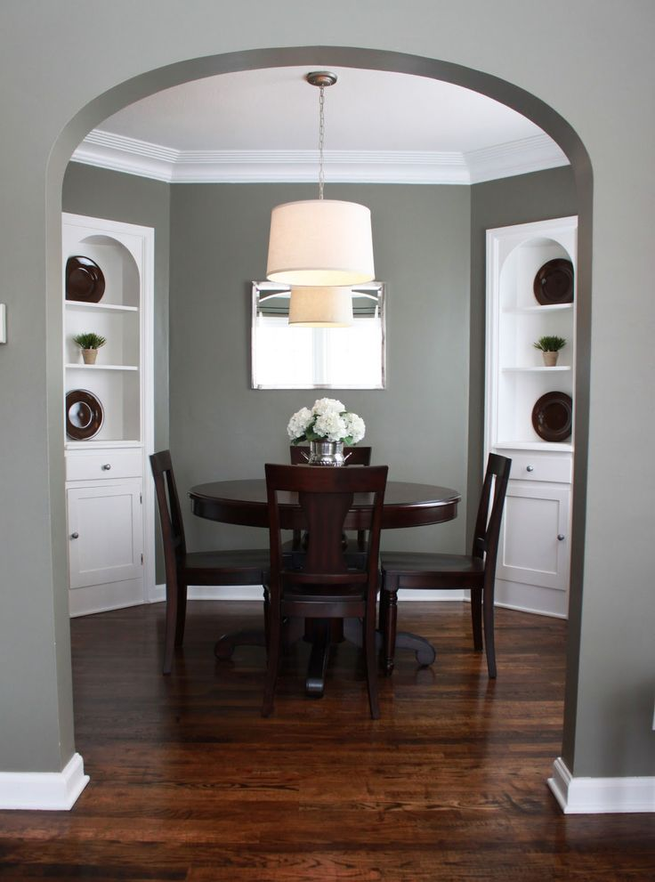 Paint color with white trim