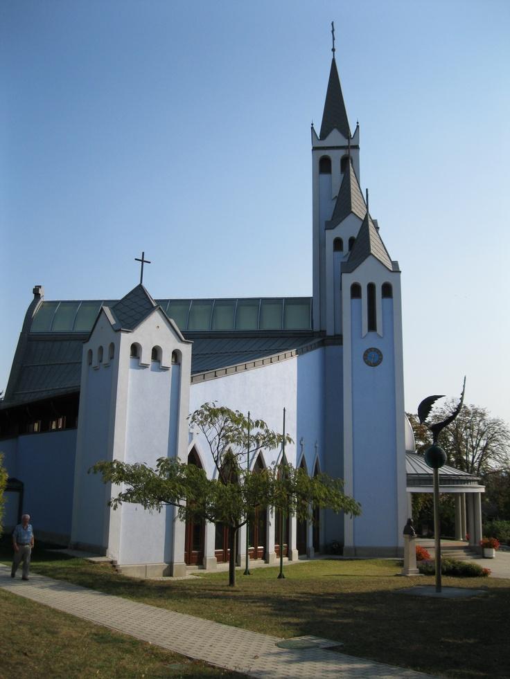 Hévíz, Kék templom