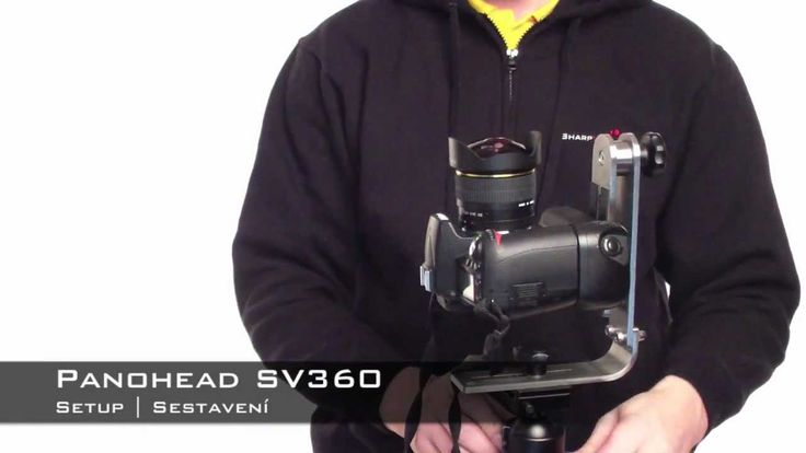 Panohead SV360 - Model 2013 - setup - sestavení