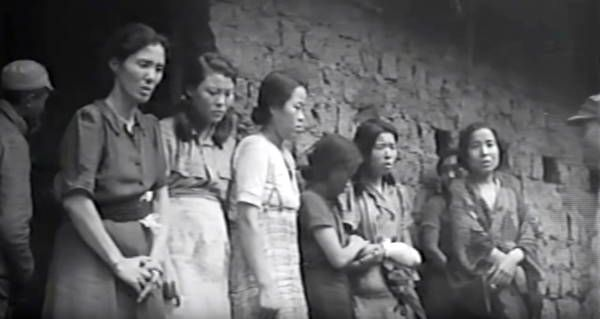 Comfort Woman Line Up For Soldiers Wwii World War Wwii History