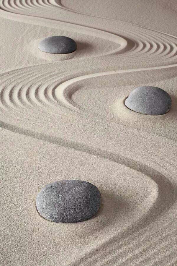Zen garden by Dirk Erken