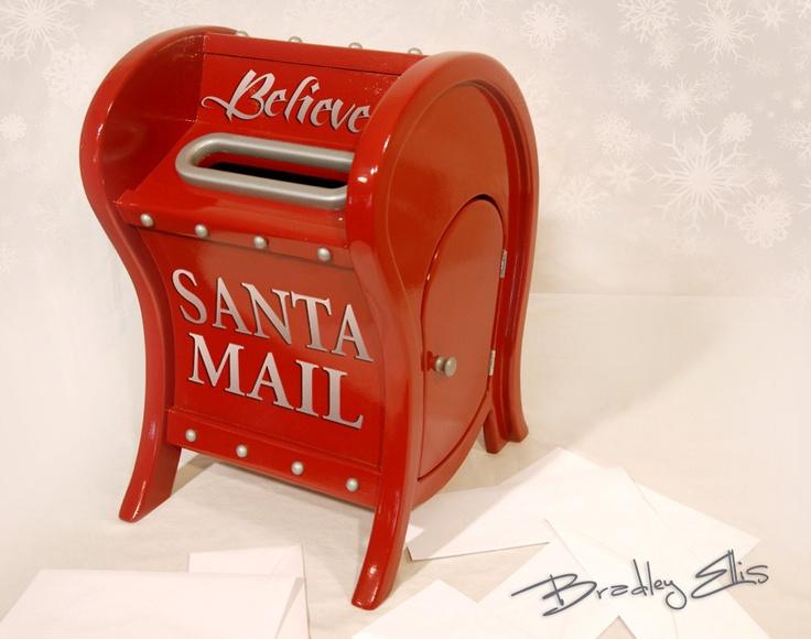 how to make a santa mailbox