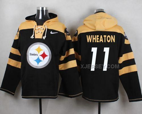 http://www.xjersey.com/nike-steelers-11-markus-wheaton-black-hooded-jersey.html Only$53.00 #NIKE STEELERS 11 MARKUS W#HEATON BLACK HOODED JERSEY Free Shipping!