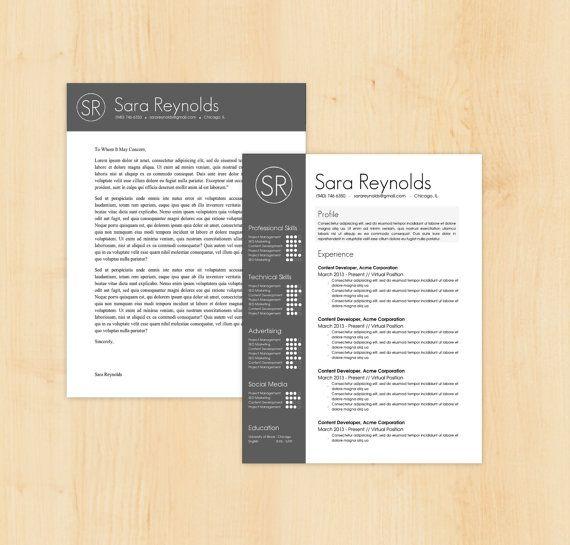 10 best Resumes images on Pinterest Cover letter tips, Cv design - template for resume cover letter