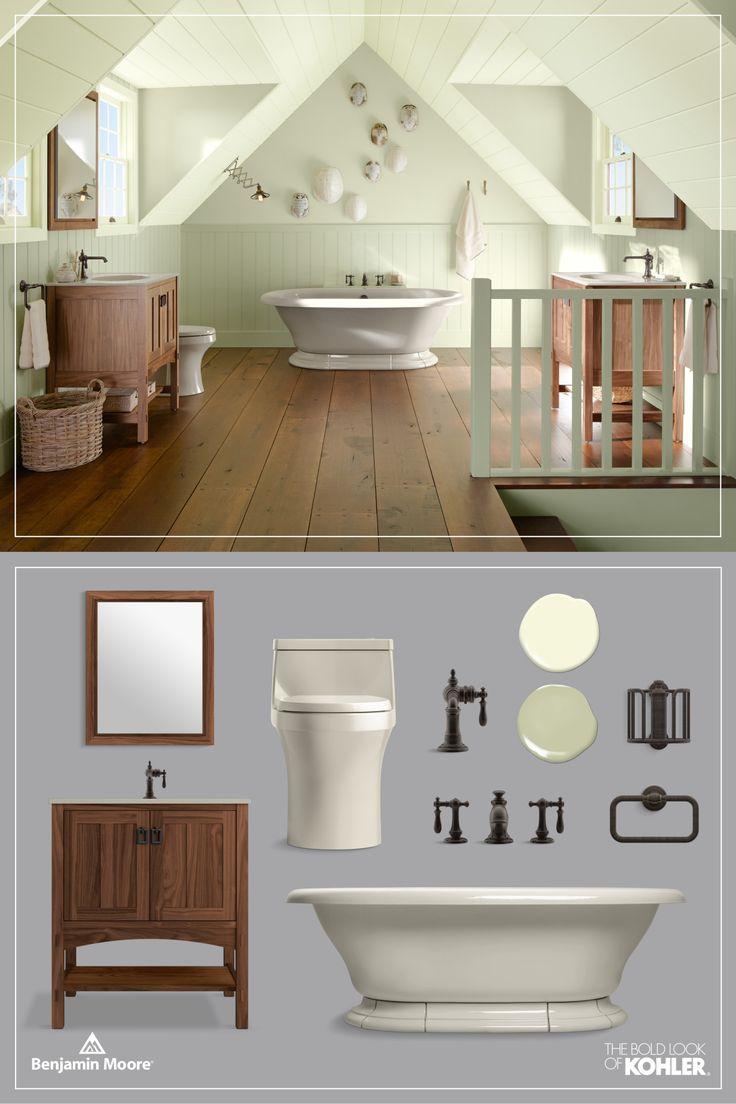 Craftsman style bathroom ideas - Kohler Product Artifacts Sink Faucet Artifacts Bath Faucet San Souci Toilet Marabou Vanity Vintage Freestanding Bath Craftsman Style