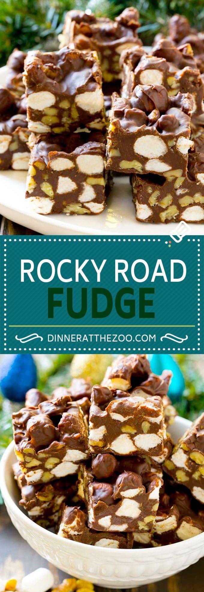 Rocky Road Fudge   Chocolate Marshmallow Fudge   Chocolate Nut Fudge   Microwave Fudge