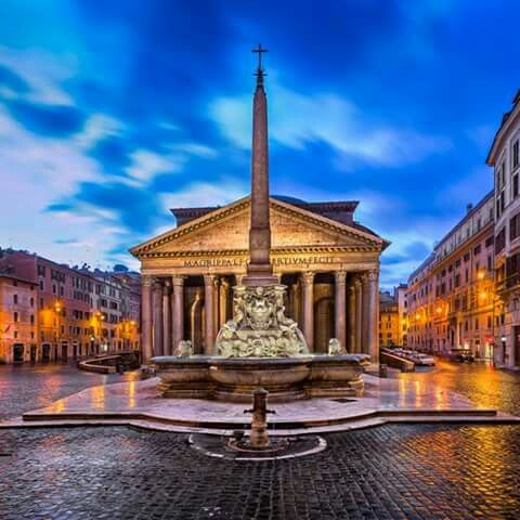 The Roman Pantheon (Rome, Italy), built in 118 AD, is still the largest unreinforced concrete dome in the world.