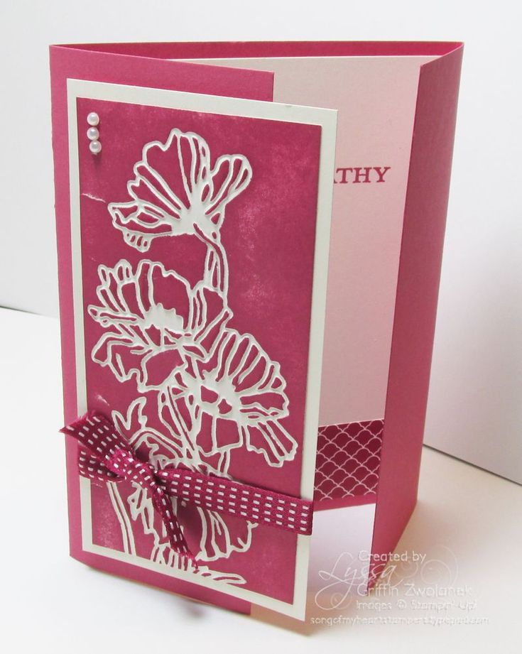 A brayer is a girls best friend...nice for a Big Shot too.  Brayering embossed images. See post for both versions.