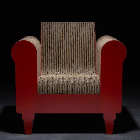 les 25 meilleures id es de la cat gorie fauteuil en carton sur pinterest meubles en carton. Black Bedroom Furniture Sets. Home Design Ideas