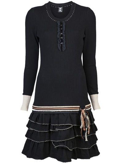 TRICOT CHIC Ruffle Dress