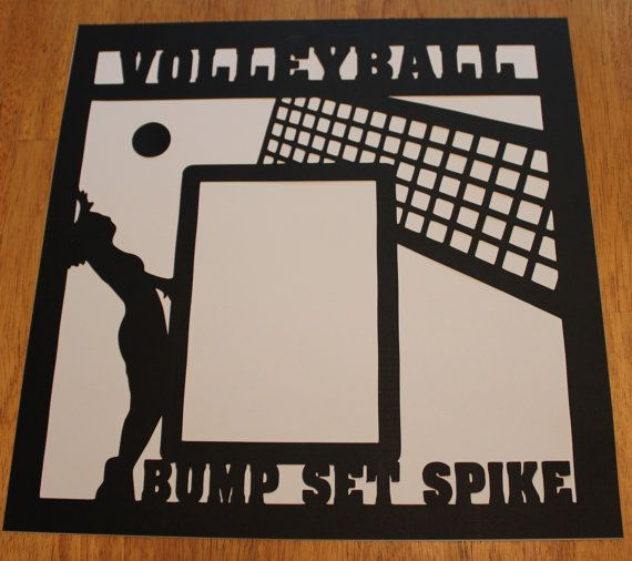 14 Best Scrapbook Pages (Volleyball) Images On Pinterest