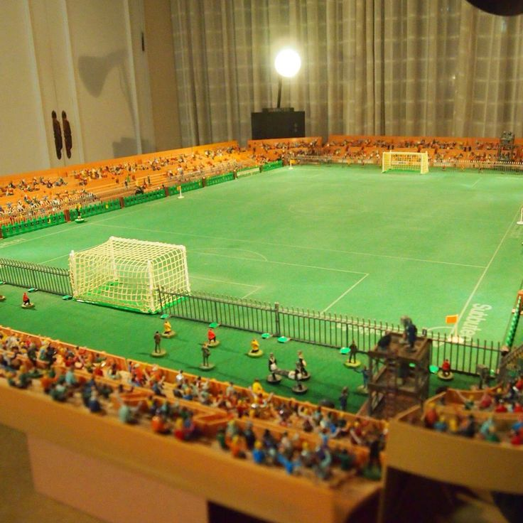 Football Stadium Lights End Table: 298 Best Images About Subbuteo Table Soccer On Pinterest
