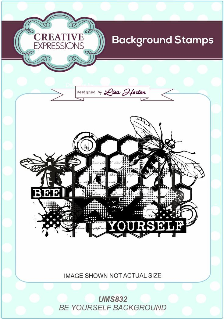 From Creative Expressions a range of A6 Background Stamps, designed by Lisa Horton, which are perfect for cards and mixed media projects.