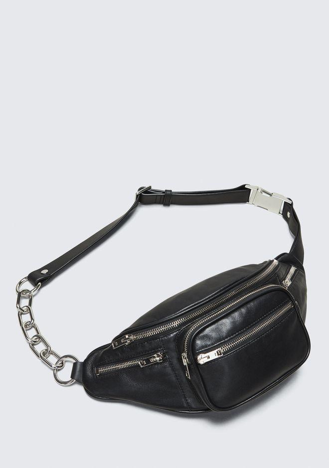 a05fb69ccb NWT Alexander Wang Attica Fanny Pack Waist Belt Bag Black Silver Chain SOLD  OUT