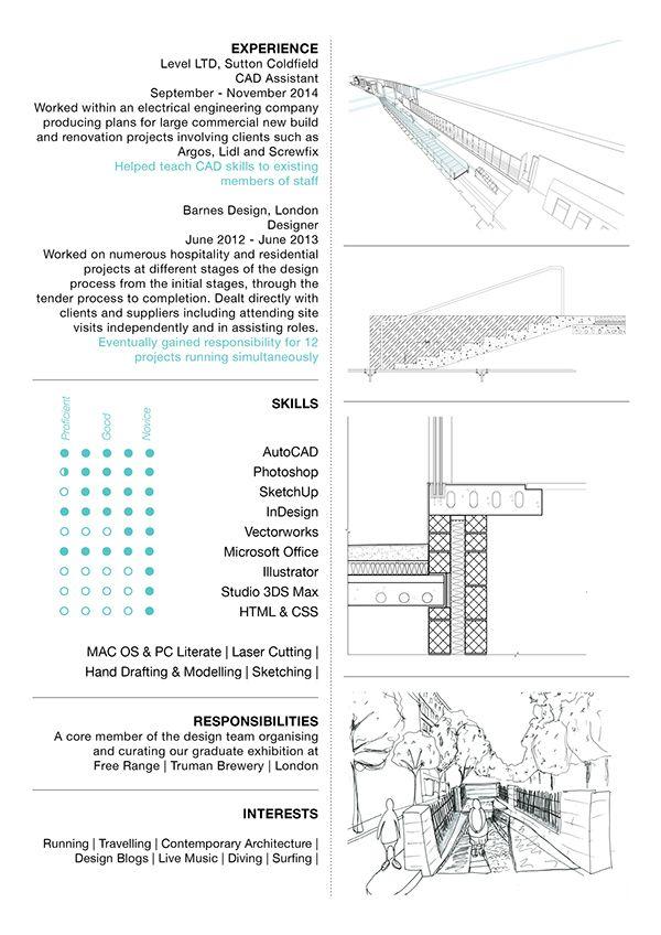 Emily Betty Interior Architecture Design CV on Behance