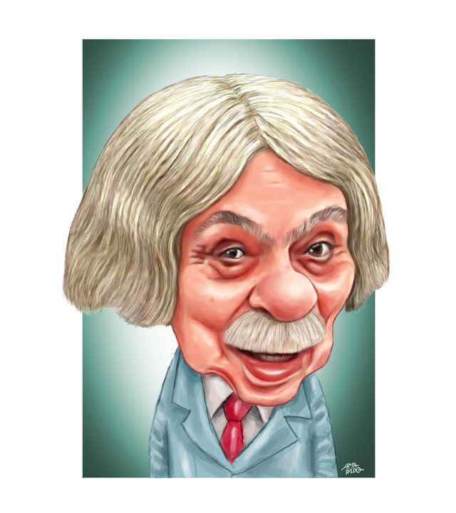 Profesor Raimundo - Chico Anysio - Caricatura