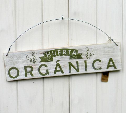 Letreros vintage | HUERTA ORGÁNICA
