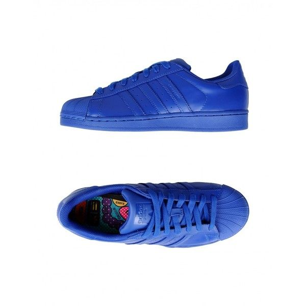 Shop Adidas Originals x Pharrell Williams Superstar Supercolor... ❤ liked on Polyvore featuring shoes