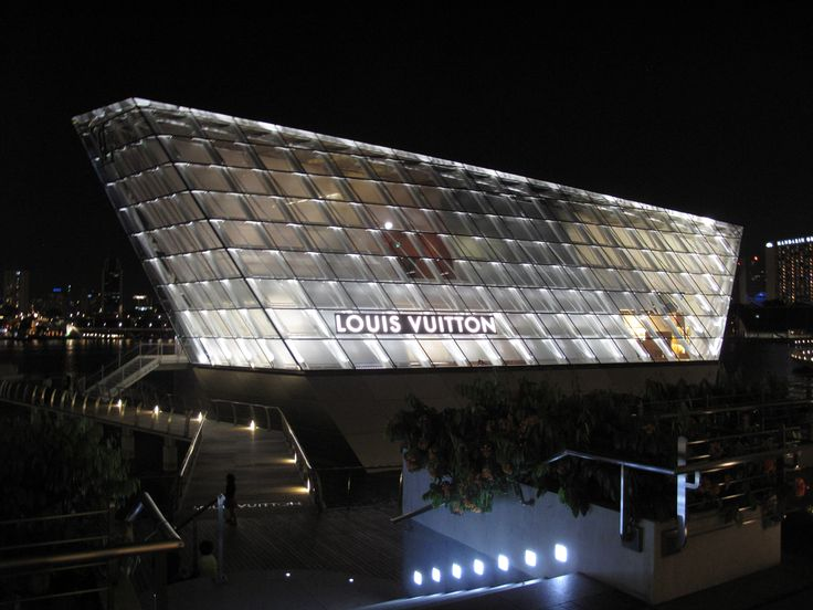 Louis Vuitton in Singapore,Courtesy of FTL Design Engineering Studio