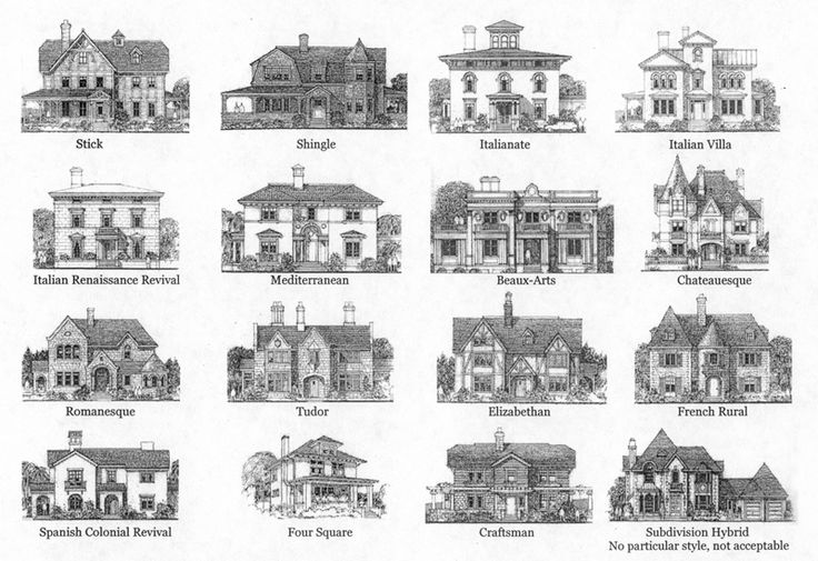 more house styles architectural styles pinterest