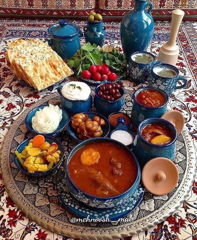 Pretty Persian food, Abgoosht