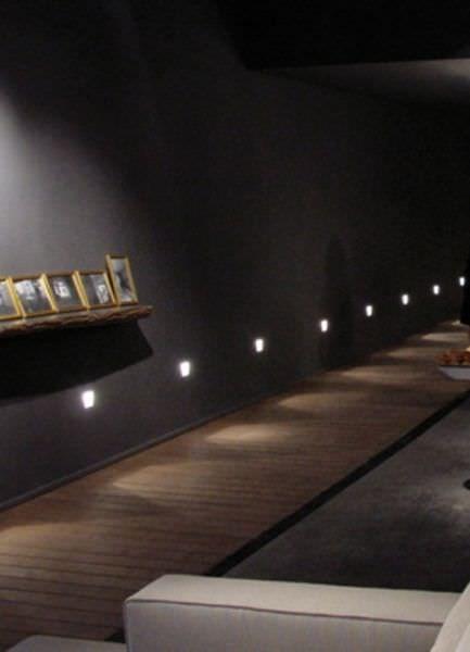Fabulous Quadratischer LED Wand Einbaustrahler FOR M M MICRO by Mario Nanni Viabizzuno