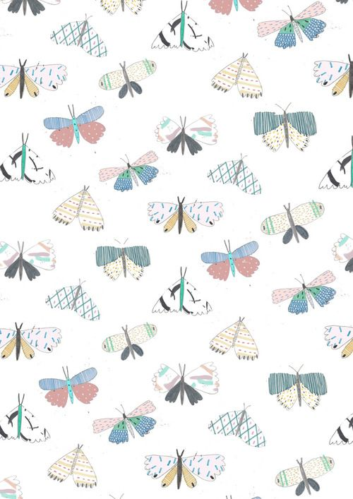 patter, print, illustration, illustration print, pattern design, butterfly pattern, butterfly print,