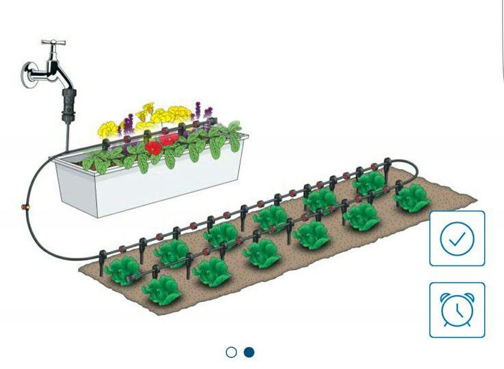 Les 25 meilleures id es de la cat gorie tuyau arrosage sur for Arrosage jardin potager