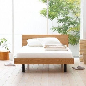 人気ベッドフレームおすすめ20選!快適な睡眠に必要不可欠!-カウモ 使い込むほどに味わいが増す無垢材♪