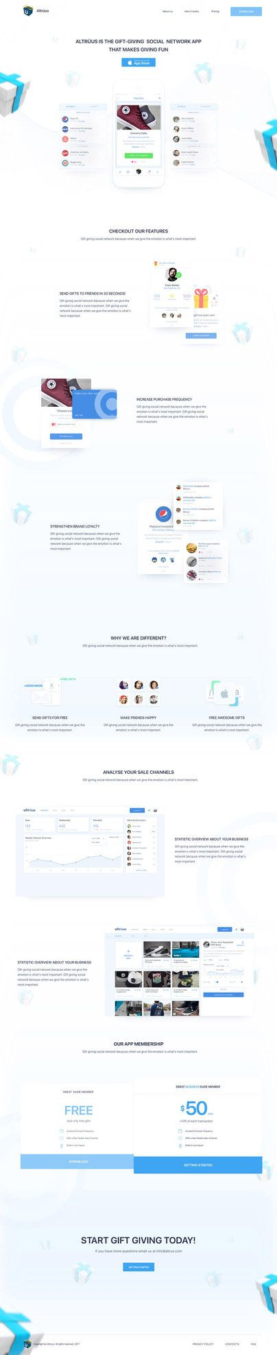 Gift-Website #ui #ux#userexperience #website #webdesign #design