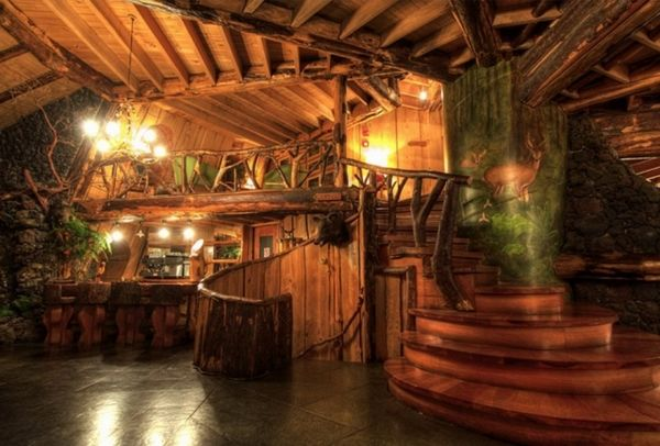 Fantastic Hobbit Accommodation in Chile: Magic Mountain Hotel