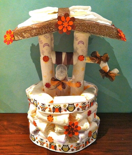 Wishing Wells Are Ideal For A Baby Shower That Guests Can Put Their Money Gifts In When They