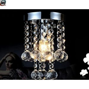 Liten men Lukseriøs Krystall taklampe (3038MERS)