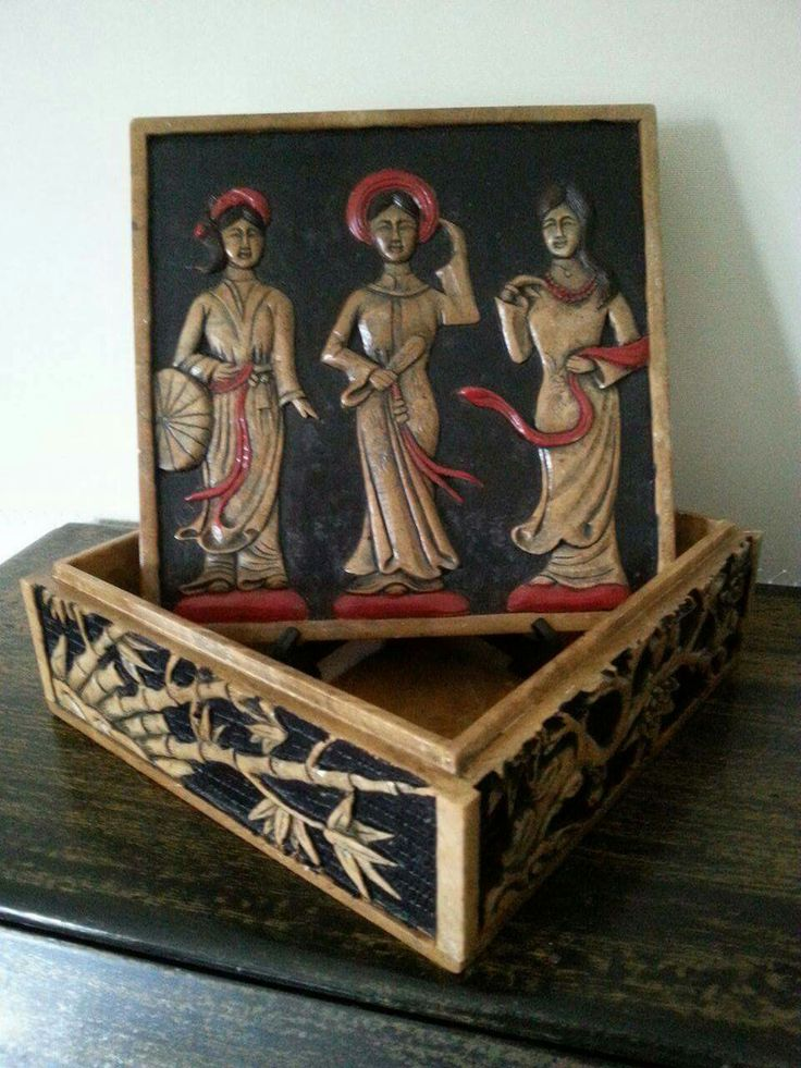 My other Vietnamese hand carved soapstone trinket box